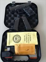 LIKE NEW GLOCK 19C WITH XS BIGDOT AND CRIMSON TRACE