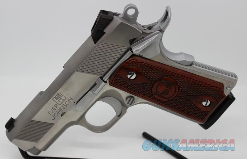 Iver Johnson 1911 officer Thrasher SS 45acp as NEW