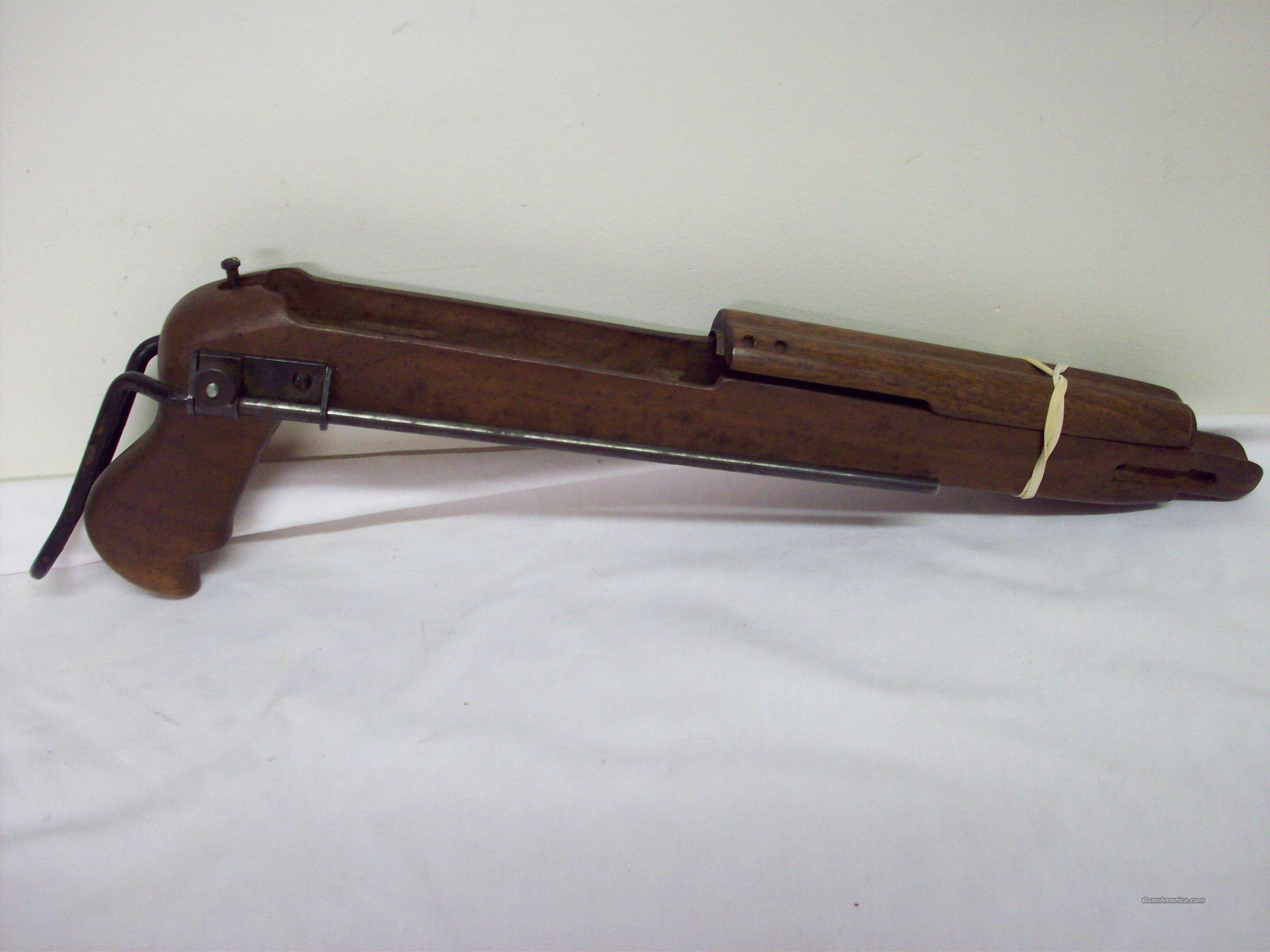 Wm on M1 Carbine Collapsible Stock