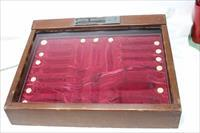 Buck Knives display case counter top used
