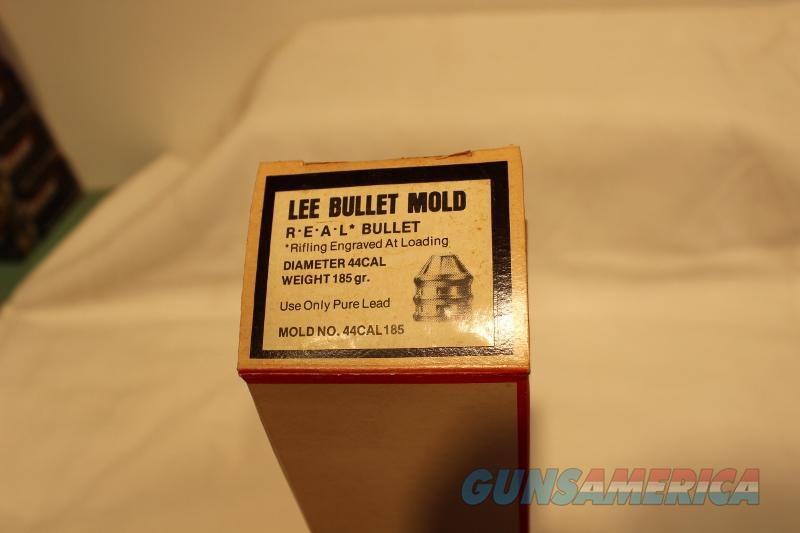 Lee bullet mold 44 cal 185gr real rifled new black powder