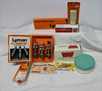 Lyman 45 long colt reloading set NEW DIES shell holder brass