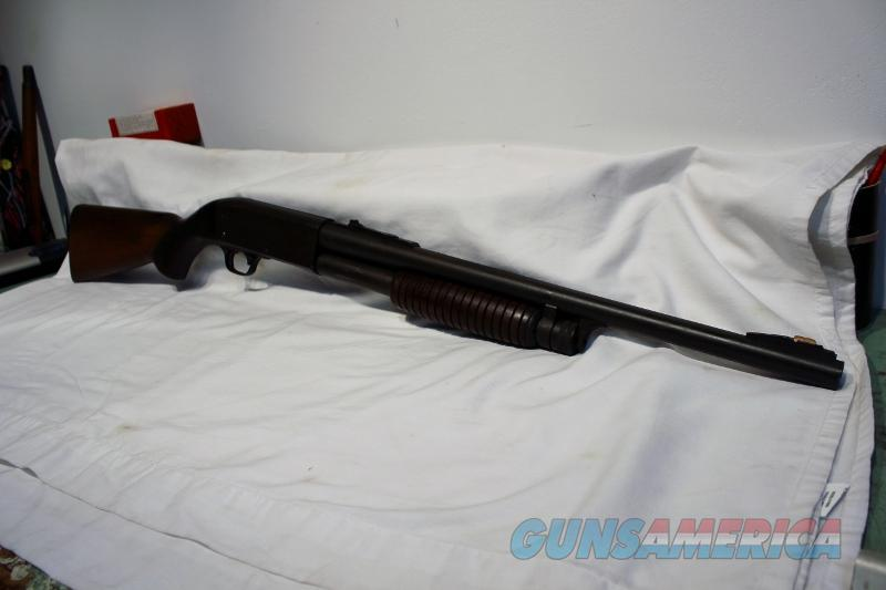 Ithaca 37 slam fire DS police special 12ga