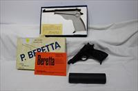 Beretta 100 7.65 32acp threaded with MAC supressor