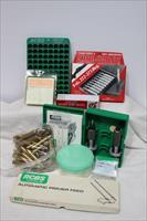 RCBS 30-06 die set brass patches #14801 A reloading package