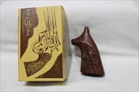 Eagle S&W J frame wood grips carved new