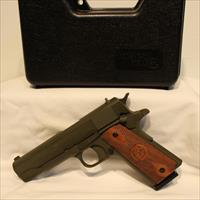 Iver Johnson 1911a1 OD green 45acp