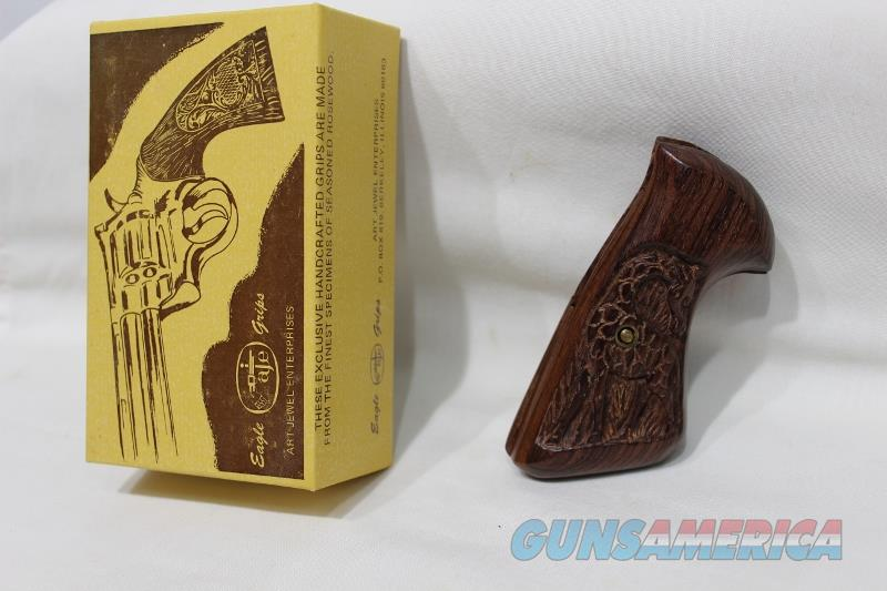 Eagle S&W J frame oversize wood grips new