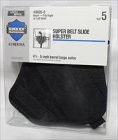 Uncle Mikes super slide 8605-0 size 5 1911 holster new cordura