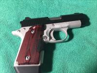 Kimber Micro 9, with lazer and extra mag