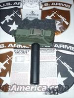 AAC M4-2000™ 51T Fast-Attach 5.56mm Silencer w/Soft Case - New