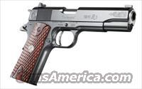 "Remington® Model 1911 R1 Centennial, 45ACP, 5"" Brl, GI Beaver Tail, Gold Dot Front Sight, Custom Grips with Remington Medallion, Custom Scrolling on Slide, 2 - 7 Round Magazines, & Hard Case - New"