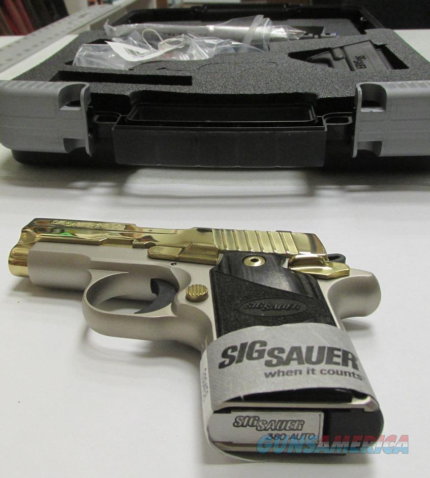 Exclusive Platinum: Sig Sauer P238 Exclusive Platinum Gold 380 ACP