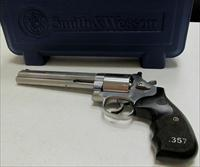"S&W Model 686 Talo Exclusive 357 Mag ( 3-5-7 Black/Silver Wood Grips) Unfluted Cylinder & 7"" Barrel 150855"