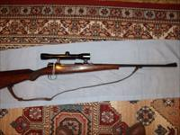COMMERCIAL MAUSER 8X57 & BUBEITUS 4X SCOPE