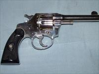 COLT POLICE POSITIVE  (FIRST ISSUE) .38 S&W NICKEL