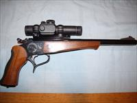 THOMPSON CONTENDER   .22LR + red dot sight
