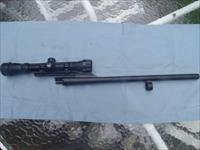 REMINGTON M870 SLUG BARREL ,20G & SCOPE