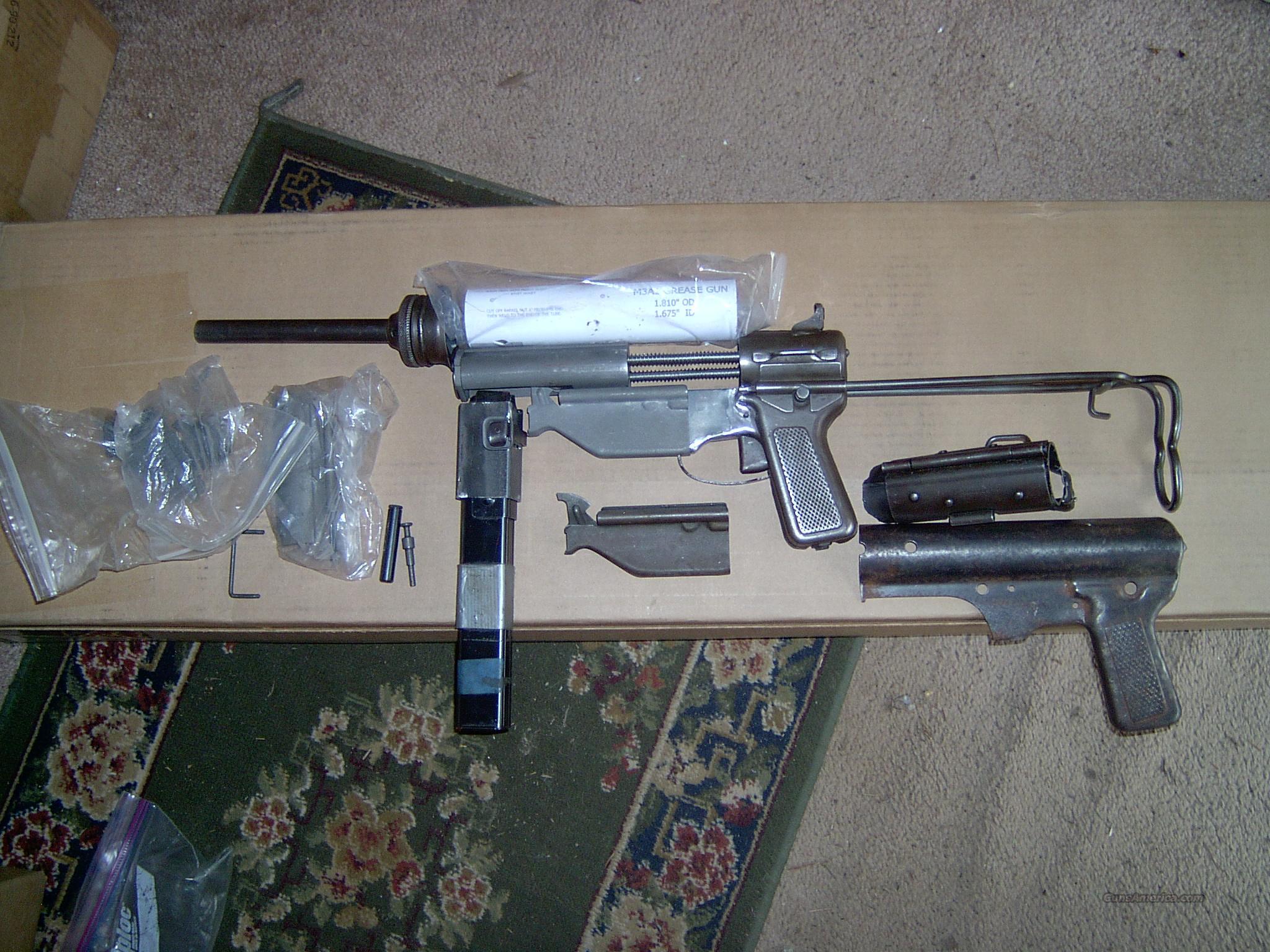 Grease Gun Parts Kit Complete  45 acp