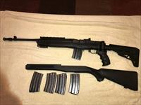 Very Nice Tactical Ruger Mini 14 package w/ extra Magazines