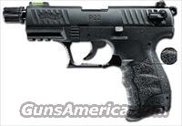 WALTHER P22 TACTICAL W/HIVIZ - .22LR - THREADED BARREL, SUPPRESSOR READY 10+1 - 2 MAGS - PICATINNY RAIL -
