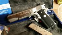 "LEW HORTON EXCLUSIVE - COLT GOVT MODEL 1991 - STAINLESS STEEL - "" REDUCED "" - COMMANDER  UPGRADE  GOLD CUP PARTS - WRAP GRIPS - 1 of 97"