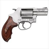 S&W MODEL 60 LADYSMITH - 357MAGNUM /38Spl + P MODEL 162414