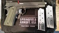 "SPRINGFIELD TRP 1911 10MM LONG SLIDE - TACTICAL RESPONSE PISTOL   6"" BL - 9610L18"