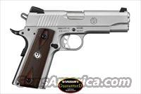 "RUGER SR1911 COMMANDER - 45 ACP - MODEL 6702 - 4.5"" BARREL - STAINLESS"