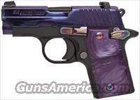 "SIG 238 ""LIPSEY'S EXCLUSIVE"" ***PURPLE***  380 ACP - SIGLITE NIGHT SIGHTS - COMES W/2 MAGS"