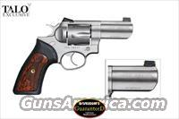 "RUGER GP100 (2) -TWO- .357 MAGNUM REVOLVERS - A SET OF TWO RUGER GP 100 (1) WCGP (1 OF 2000)  & (1) WCGPII (1 OF 2500)  ***TALO SPECIAL LIMITED EDITION*** WILEY CLAPP  NEW IN BOX  ""SALE PRICED"""