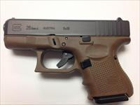 "GLOCK 26 "" LIPSEY'S EXCLUSIVE "" GEN 4 "" FDE - 9mm 10+1 ""3-10RD MAGS"