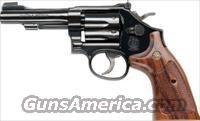 "S&W  CLASSIC MODEL 48 - 22 MAGNUM 4"" BARREL - BLUE - WOOD GRIPS ""NEW IN BOX"" MOST SOUGHT AFTER"