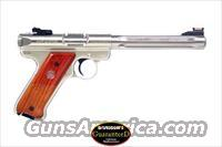 RUGER MKIII HUNTER - MODEL # KMKIII678H  -  22 LONG RIFLE PISTOL - COMES WITH 3 MAGAZINES
