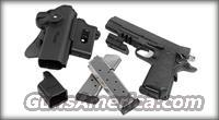 SIG 1911 45 TACPAC ***WITH LASER AND RAIL*** N I B *** COMES W/4 MAGAZINES ***REDUCED