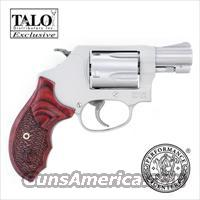 S&W MODEL 637PC - 38 ENHANCED ACTION *** TALO *** PERFORMANCE CENTER 38SPL+P MODEL 170349 *** REDUCED ***