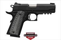 BROWNING 1911-380 BLACK LABEL PRO COMPACT - *** REDUCED*** LIMITED PRODUCTION - NIGHT SIGHTS N.I.B.