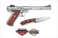 RUGER MK IV - WILLIAM B. RUGER 100th BIRTHDAY - 1 of 1000 - CRKT KNIFE W/MATCHING S/N & PANELS