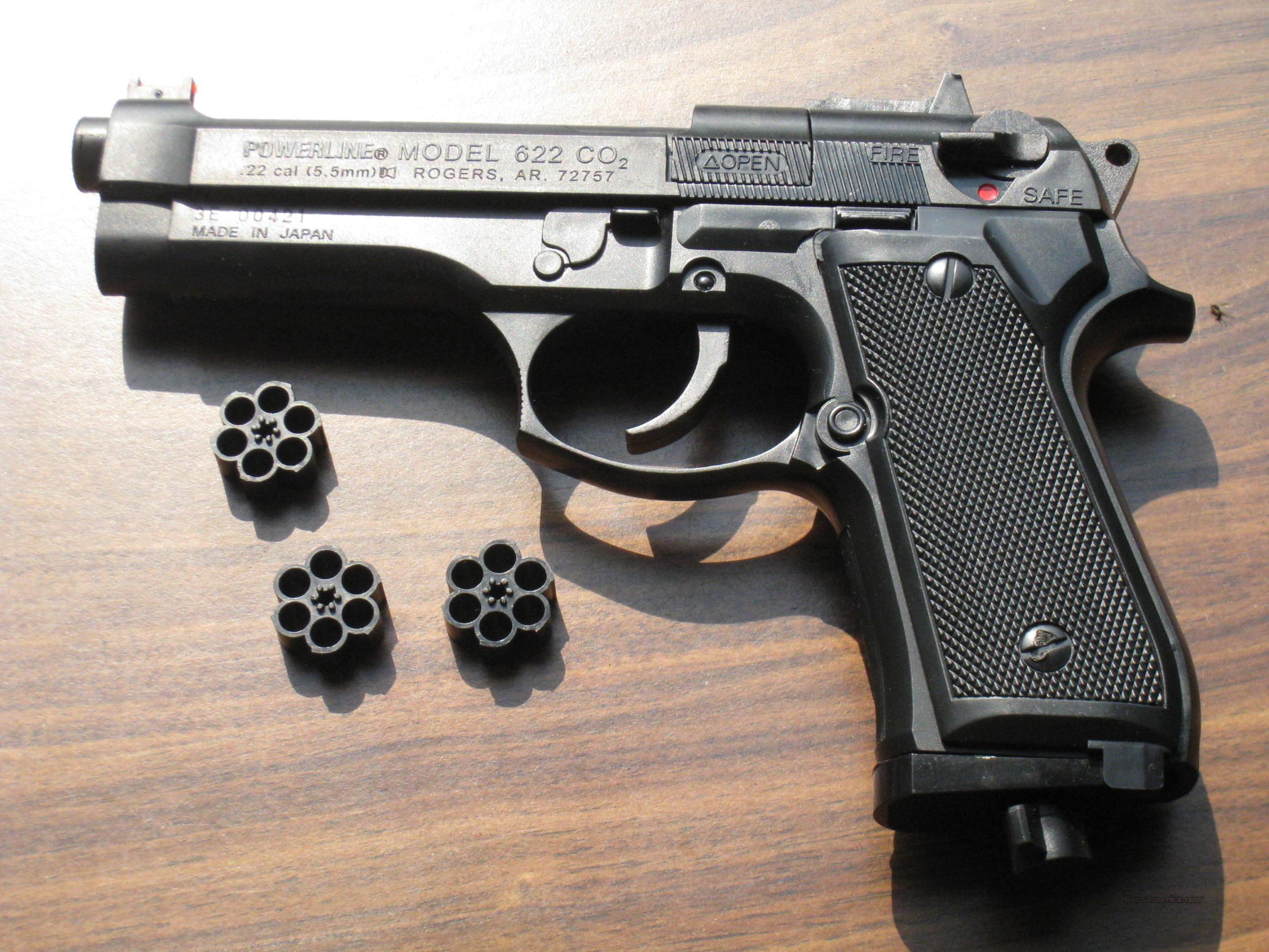 daisy powerline 622x a co2 repeater pistol with for sale rh gunsamerica com Daisy Powerline 880 Parts Diagram Daisy Powerline Slingshot