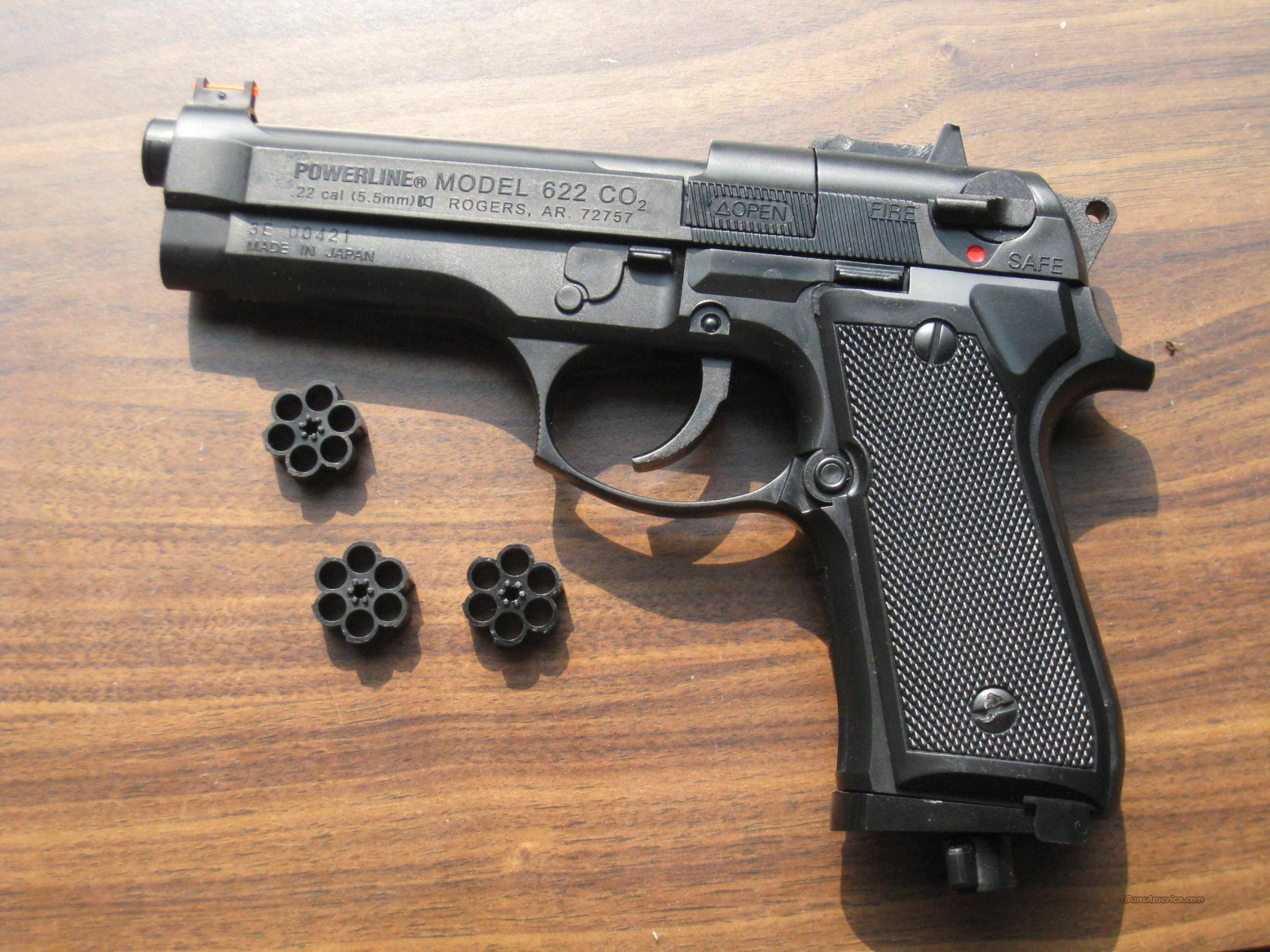 daisy powerline 622x a co2 repeater pistol with for sale rh gunsamerica com Daisy Powerline 1000 Manual Daisy Powerline 880 Repair Manual