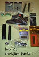 Shotgun parts chokes, stocks and grips, choke wrenches etc (see picture)
