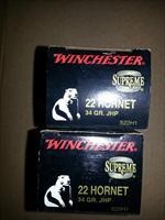 Winchester Supreme 22 Hornet S22H1