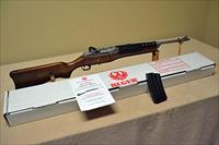Ruger Mini-14 Stainless .223 Hardwood with box, manual, 20rd Mag Mini 14