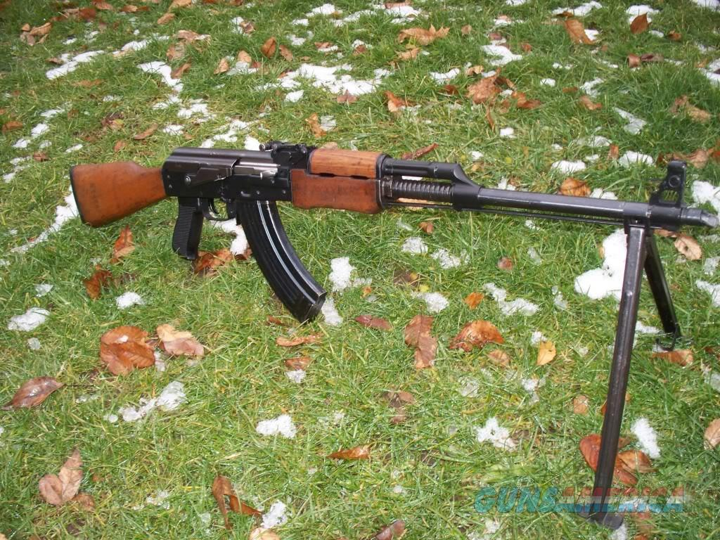 Yugo M72 RPK Chrome Lined Heavy Barrel With Fins Full Hardened 1 5mm  Receiver Bi-Pod Matching Numbers -IN PRODUCTION-