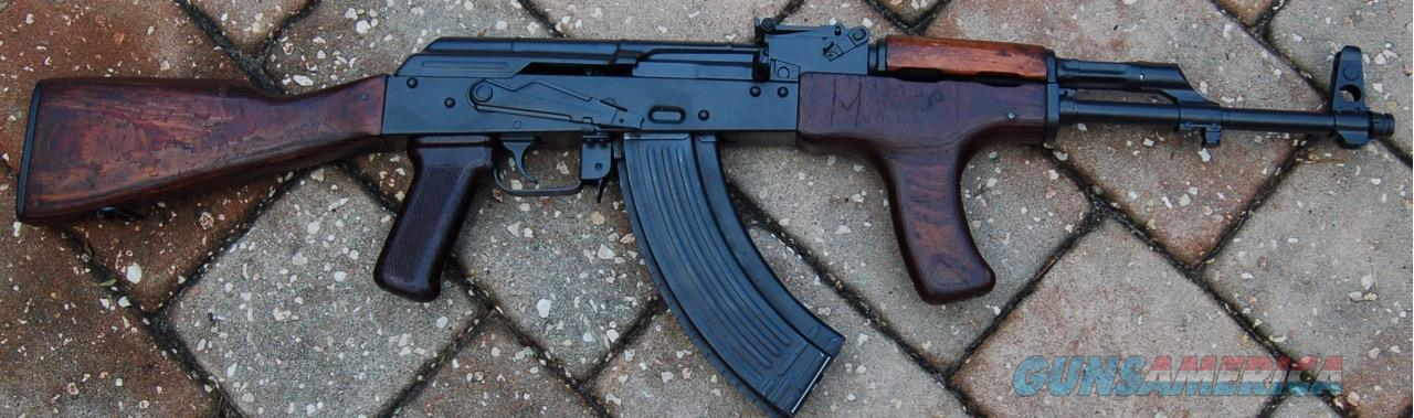 AK47 Rifle Battlefield Pick-Up Romanian VPG Pistol Mitraliera model 1963  Matching Numbers Polish Radon Hammer Forged Chrome Lined Barrel ALG Trigger
