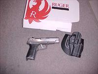 RUGER P-89 STAINLESS 9MM