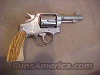 SMITH & WESSON PRE 10 38 S&W W/STAGS