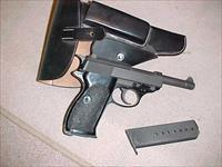 WALTHER P1 POST WAR P=38 IN 9MM