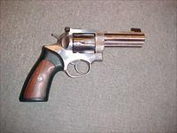 RUGER GP-100 STAINLESS 357 MAGNUM 4""