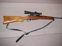 RUGER 180 SERIES MINI 14 WITH LEUPOLD SCOPE